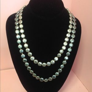 Jewelry - Grey Pearl Double Necklace